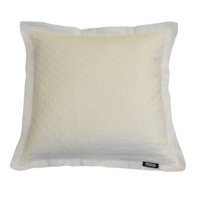 Basketweave Cotton Throw Pillow