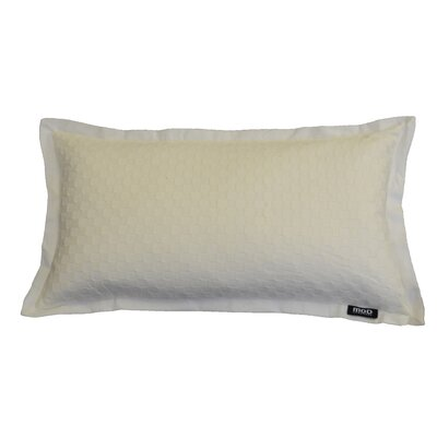 Basketweave Cotton Lumbar Pillow