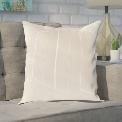Sherrard 100% Cotton Throw Pillow Cover Size: 20 H x 20 W x 1 D, Color: Neutral