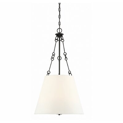 Cronan 4-Light Inverted Pendant Finish: English Bronze