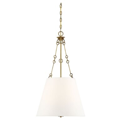 Cronan 4-Light Inverted Pendant Finish: Warm Brass