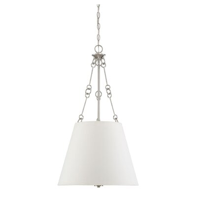 Cronan 4-Light Inverted Pendant Finish: Satin Nickel