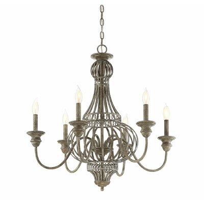 Botsford 6-Light Candle-Style Chandelier