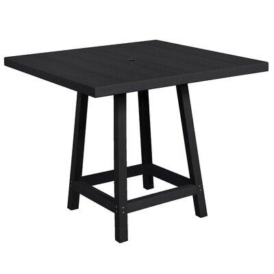 Cosentino Pub Table Color: Black