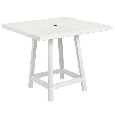 Cosentino Pub Table Color: White