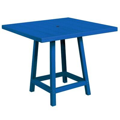 Cosentino Pub Table Color: Blue