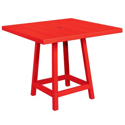 Cosentino Pub Table Color: Red