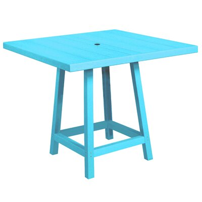 Cosentino Pub Table Color: Turquoise