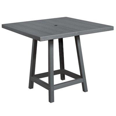 Cosentino Pub Table Color: Slate Gray