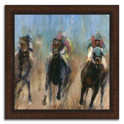 'Leader' Framed Acrylic Painting Print C5BFCB9896E343A8993569D58FB8E882