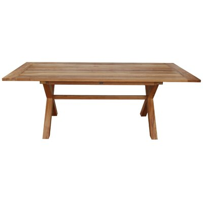 Learn more about Teak Dining Table Product Photo