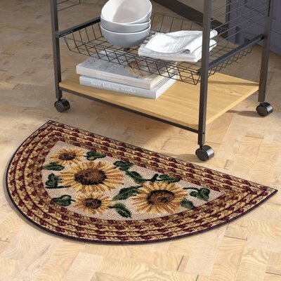 Carroll Valley Kitchen Mat Rug Size: Wedge 19 x 31