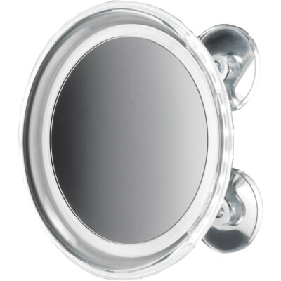 Moresi Round Suction Cup LED Makeup/Shaving Mirror FF853E8F816D4712B203758C2CA6386D