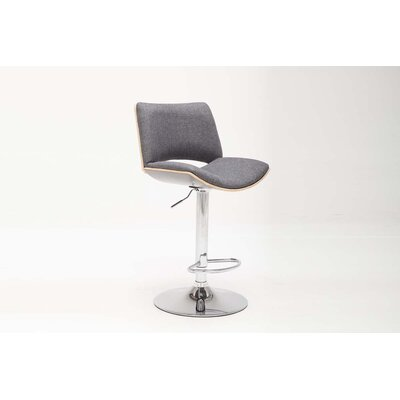 Berwyn Adjustable Height Swivel Bar Stool