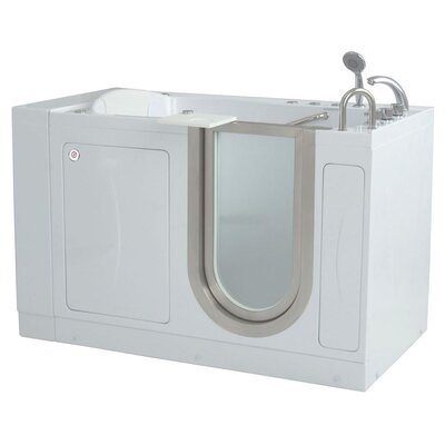 Royal 38 x 32 Walk-In Combination Bathtub Type: Acrylic Hydro Massage/Microbubble Therapy/Heated S