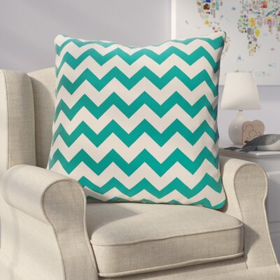 Milo Decorative Outdoor Pillow Color: Lake Blue, Size: 18 H x 18 W x 1 D