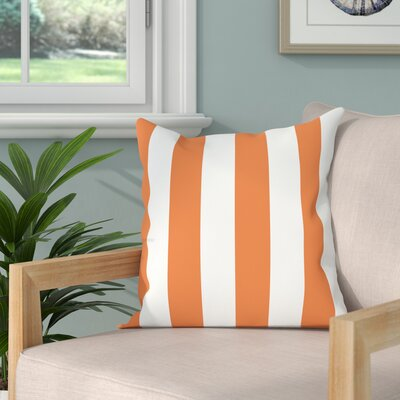 Molesley Throw Pillow Color: Orange