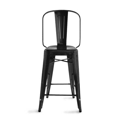Despres Steel 30 Bar Stool Color: Matte Black