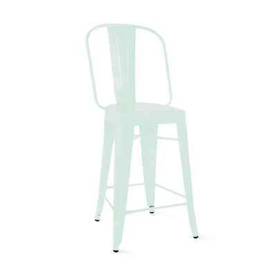 Despres Steel 30 Bar Stool Color: Matte Mint