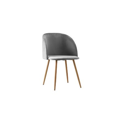 Willets Modern Side Chair Upholstery: Light Gray