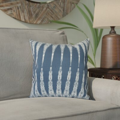 Arlo Geometric Throw Pillow Size: 26 H x 26 W, Color: Navy Blue