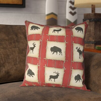 Ordonez Lodge Throw Pillow