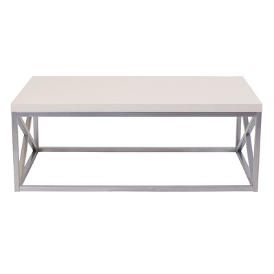 Park Ridge Coffee Table Table Top Color: Off-White