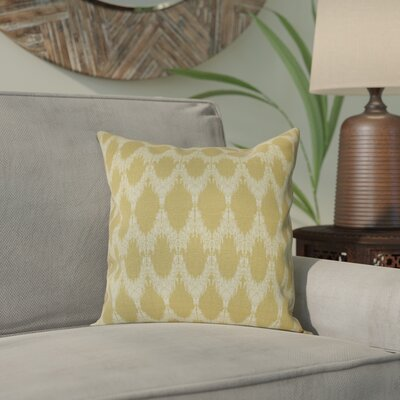 Arlo Throw Pillow Size: 16 H x 16 W, Color: Gold