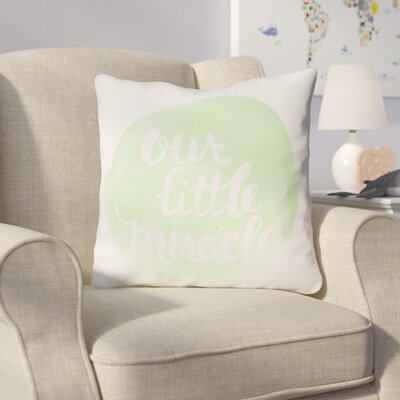 Gianna Indoor/Outdoor Throw Pillow Size: 18 H x 18 W x 4 D, Color: Green