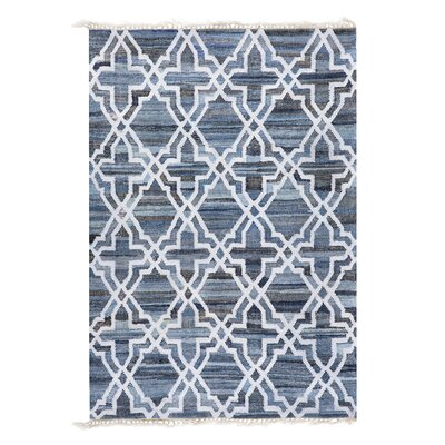 Handwoven Cotton Denim Rug Rug Size: Rectangle 140 x 200cm