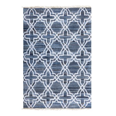 Handwoven Cotton Denim Rug Rug Size: Rectangle 160 x 230cm