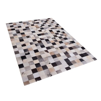 Hand Tufted Cowhide Brown Rug Rug Size: Rectangle 160 x 230cm