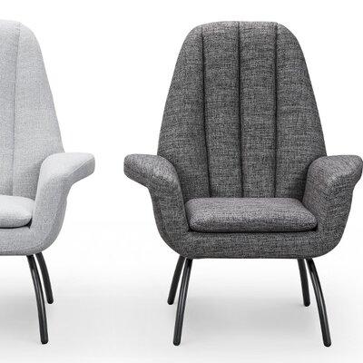 Gil Armchair Upholstery: Dark Gray