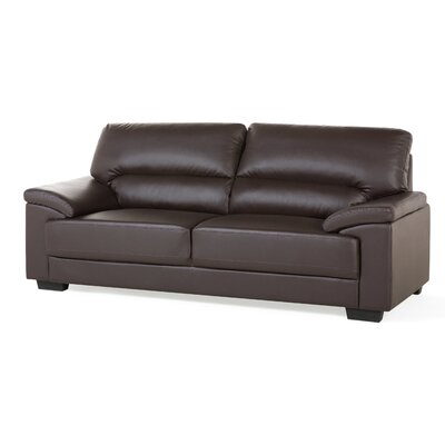 3 Seater Big Sofa Upholstery: Brown