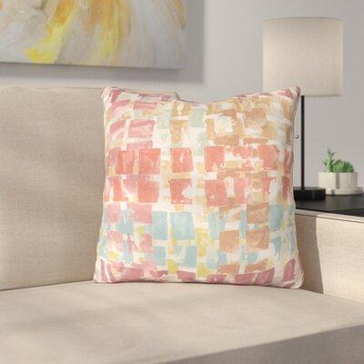 Bernardi Throw Pillow Color: Spiceberry