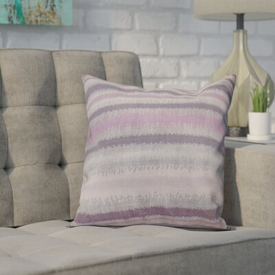 Dorazio Raya De Agua Throw Pillow Size: 18 H x 18 W, Color: Lavender