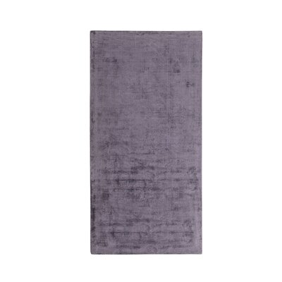 Gesi Short Pile Handwoven Grey Rug Rug Size: Rectangle 80 x 150cm