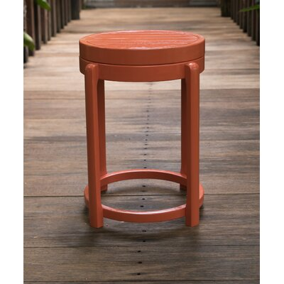 Stonebridge End Table Color: Orange