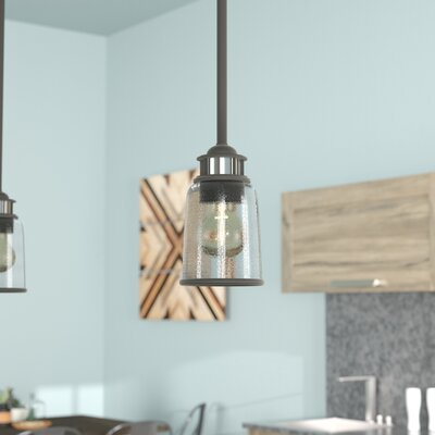 Laurenza 1-Light Mini Pendant Finish: Bronze