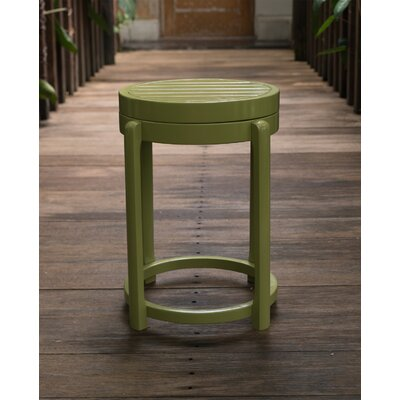 Stonebridge End Table Color: Green