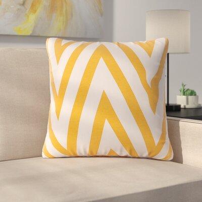 Boyertown Throw Pillow Color: Yellow