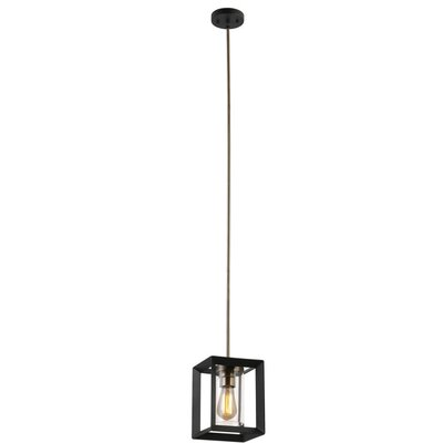 Eboni 1-Light Lantern Pendant