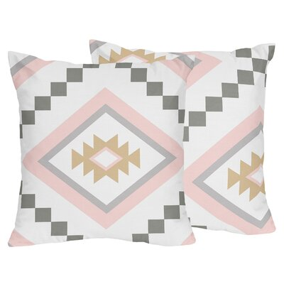 Aztec Indoor/Outdoor Throw Pillow