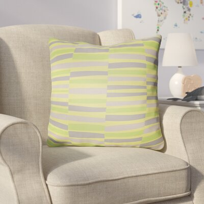 Colinda Throw Pillow Size: 18 H x 18 W x 4 D, Color: Green