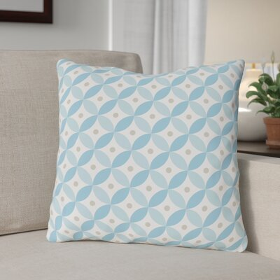 Matzo Pattern Throw Pillow Size: 16 x 16