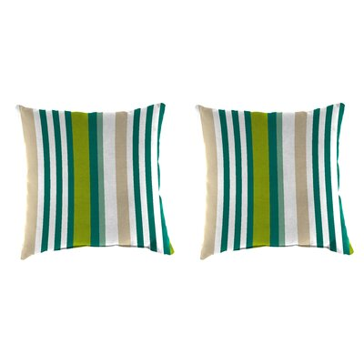 Wimberly Accessory Toss Indoor/Outdoor Throw Pillows Color : Green/Beige
