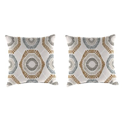 Isley Accessory Toss Indoor/Outdoor Throw Pillows, Set of 2 Size: 16 H x 16 W x 4 D