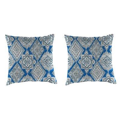 Wimberley Accessory Toss Indoor/Outdoor Throw Pillows, Set of 2 Size: 18 H x 18 W x 4 D