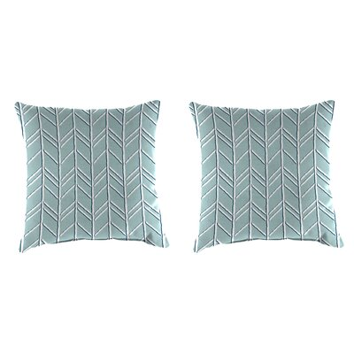Wilkin Accessory Toss Indoor/Outdoor Throw Pillow Size: 18 H x 18 W x 4 D