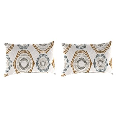 Ishaan Accessory Toss Indoor/Outdoor Lumbar Pillow